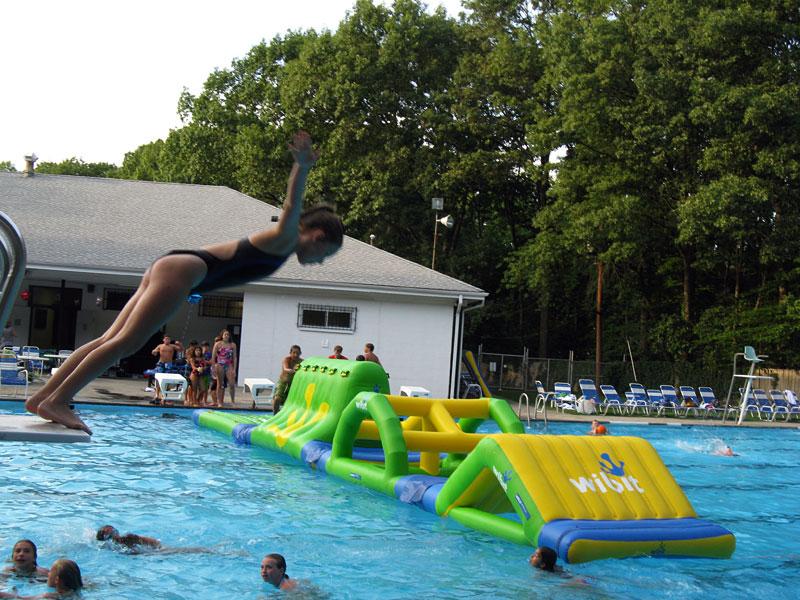 NJ swim club pool