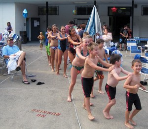 Bergen County swimming clubs
