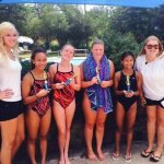 NJ swim team award winners