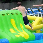 WIBIT inflatable obstacle course
